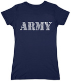 Juniors: Lyrics To The Army Song T-Shirts