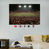Texas Tech Stadium Mural Wallstickers