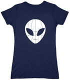 Juniors: I Come in Peace Alien T-Shirt