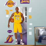 Kobe Bryant Growth Chart   Wall Decal