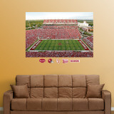 Oklahoma Sooners Stadium Mural Wall Decal
