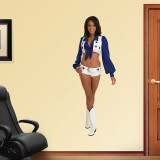 Mia Greenhouse- Dallas Cowboys Cheerleaders Wall Decal