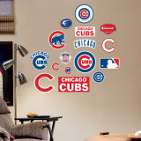 Cubs - Fathead Junior Logosheet   Wall Decal