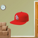 St. Louis Cardinals New Era Cap Wall Decal