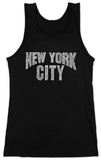 Juniors: Tank Top - NYC Neighborhoods T-Shirt