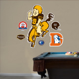 Denver Broncos AFL Logo Wall Decal