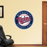 Twins 2010 Logo Wall Decal