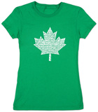 Juniors: Canada National Anthem T-shirts