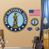 Army National Guard Logo Wall Decal