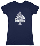 Juniors: Spade 'Poker Hands' T-shirts