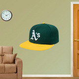 Oakland A's New Era Cap Wall Decal