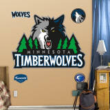 Minnesota Timberwolves Logo Wall Decal