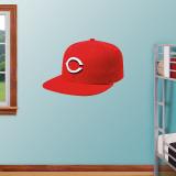 Cincinnati Reds New Era Cap Wall Decal