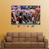 Bills-Browns Line of Scrimmage Mural Wall Decal