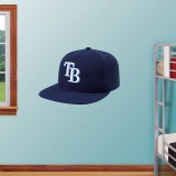 Tampa Bay Rays New Era Cap Wall Decal