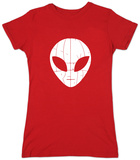 Juniors: I Come in Peace Alien T-shirts