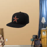 Houston Astros New Era Cap Wall Decal