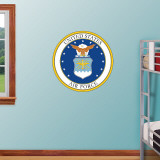 Air Force Coat of Arms Muursticker