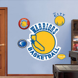 Golden St. Warriors Classic Logo Wall Decal