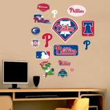 Phillies - Fathead Junior Logosheet  Wall Decal