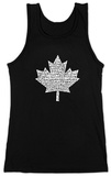 Juniors: Tank Top - Canada National Anthem Womens Tank Tops