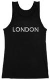 Juniors: Tank Top - London Neighborhoods Tshirts