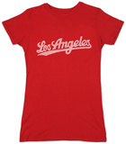 Juniors: Los Angeles Neighborhoods T Shirts