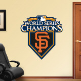 San Francisco Giants 2010 WS Champions Logo Wall Decal