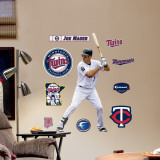 Joe Mauer - Fathead Junior Wall Decal