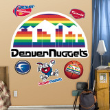 Denver Nuggets Classic Logo Wall Decal