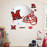 Miami of Ohio Helmet Wall Decal