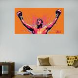 Ali Celebration Illustration Mural - Duvar Resmi