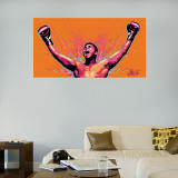 Ali Celebration Illustration Mural Wall Decal
