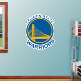 Golden St. Warriors 2010 Logo   Wall Decal