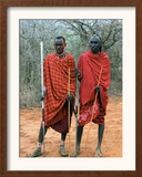 Maasai Warriors Framed Photographic Print