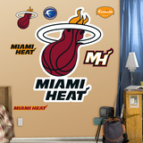 Miami Heat Resized Logo Wall Decal Wall Decal