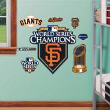 San Francisco Giants 2010 WS Champions Logo - Fathead Junior Wall Decal