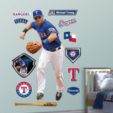 Michael Young Wall Decal