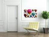 Hot Air Balloons - Duvar Çıkartması