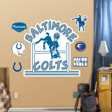 Baltimore Colts Classic Logo Wall Decal