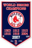 Boston Red Sox Cartel de chapa