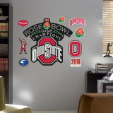 Ohio State Rose Bowl Champions Logo Wall Decal