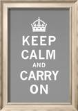 Keep Calm and Carry On Póster