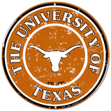 University of Texas Tin Sign