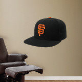 San Francisco Giants New Era Cap Wall Decal