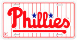 Phillies Tin Sign