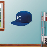 Kansas City Royals New Era Cap Wall Decal