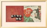 Küsse mich Poster von Mandy Lynne