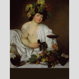 Young Bacchus Wall Decal