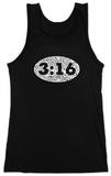 Juniors: Tank Top - John 3:19 T-Shirt